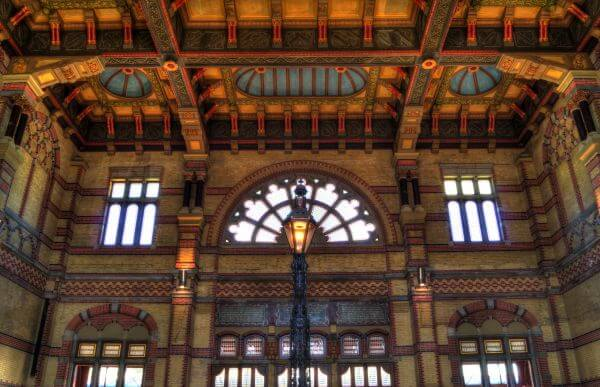 Central station hall photo