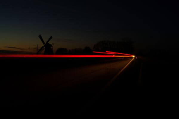 Long exposure at night photo