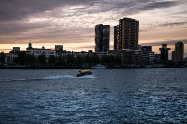 Rotterdam water taxi photo