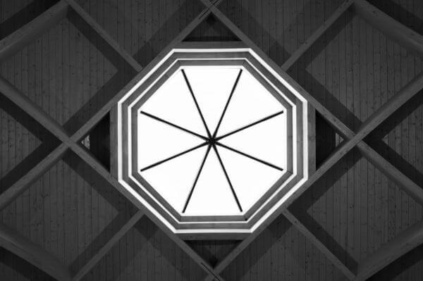 Ceiling symmetry photo
