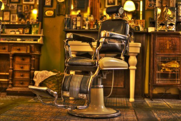 Barber chair photo