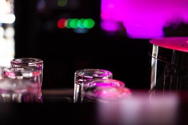 At the bar photo