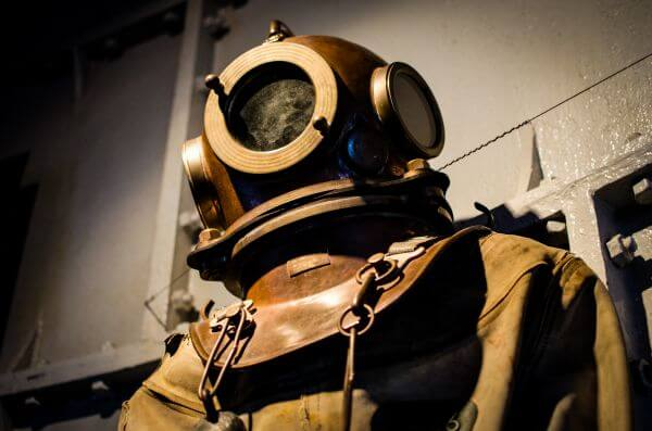 Divers suit photo