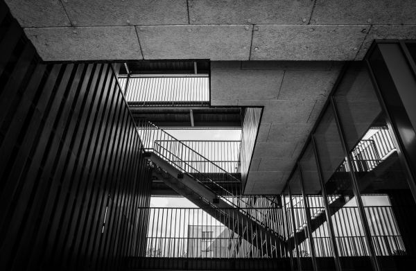 Urban staircase photo