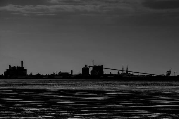 Industrial horizon photo
