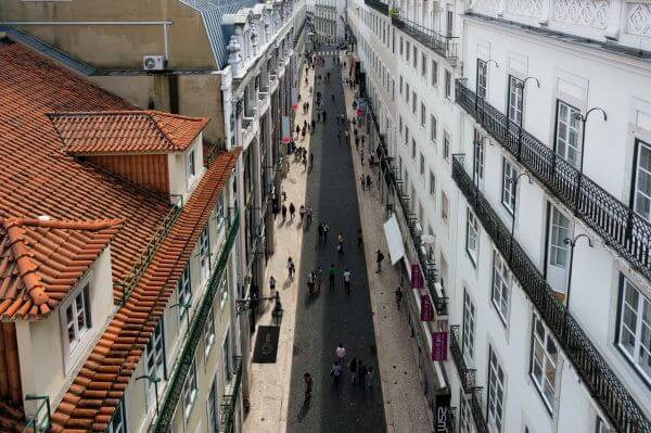 The streets of Lisbon photo