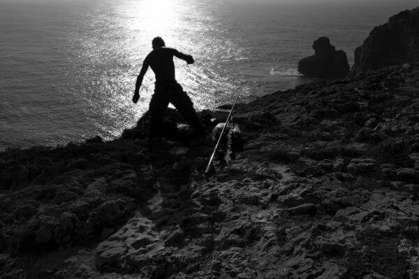 Fisherman Silhouette photo