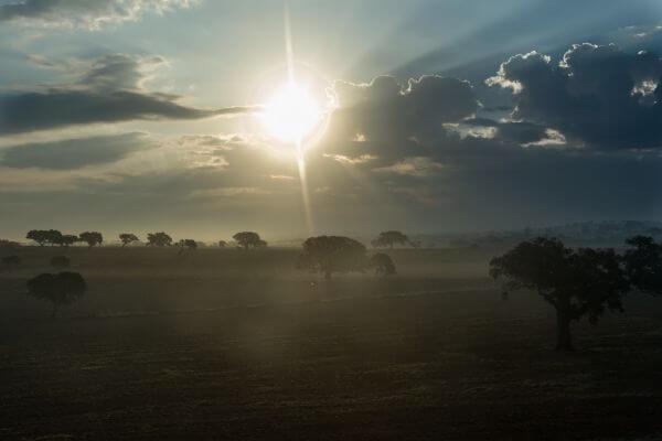 Sunrise in Portugal photo