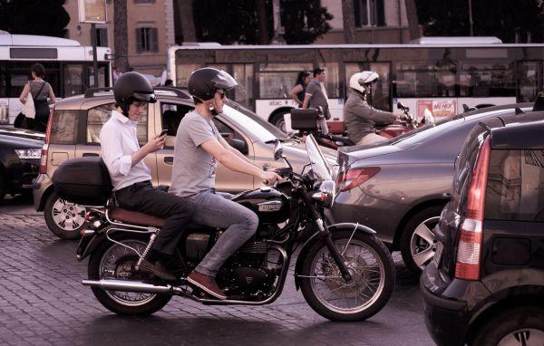 Roman traffic photo
