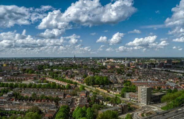 Groningen skyline photo