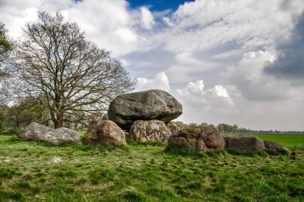 Dolmen in The Netherlands photo