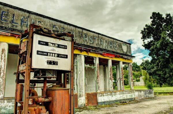 Old pump photo