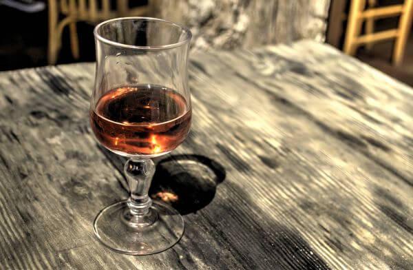 Rosé wine photo