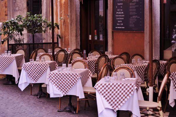 Italian restaurant photo