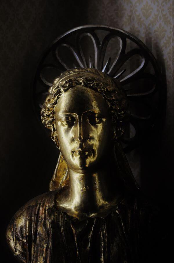 Roman bust photo