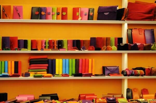 Colorful shop photo