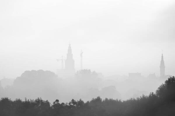 Groningen in Black and White photo