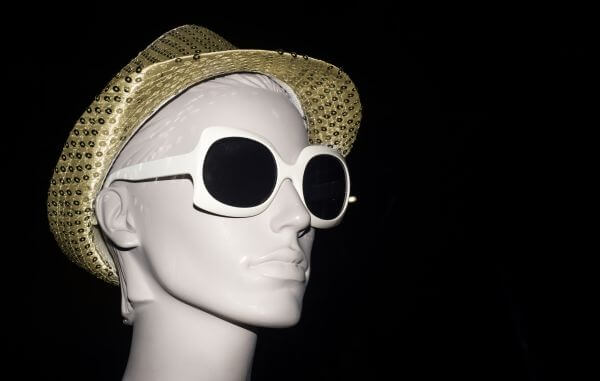Mannequin with sunglasses photo