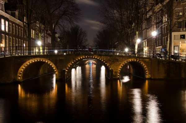 Amsterdam bridges photo