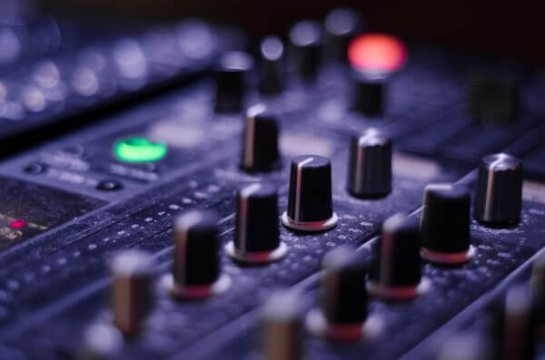 Mixer knobs photo