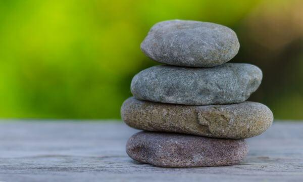 Wellness stones photo