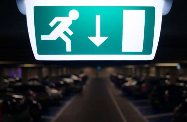 Exit photo