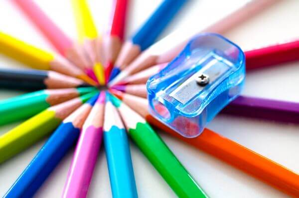 Coloring pencils photo