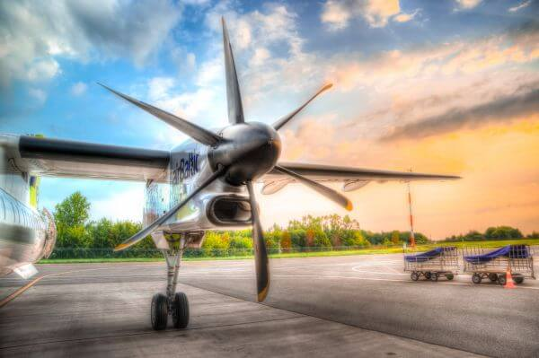 Plane propeller photo