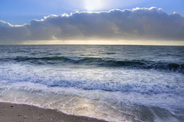Layered sea photo