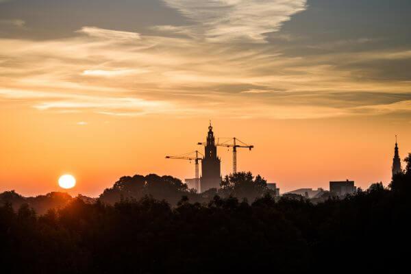 Groningen City Sunrise photo