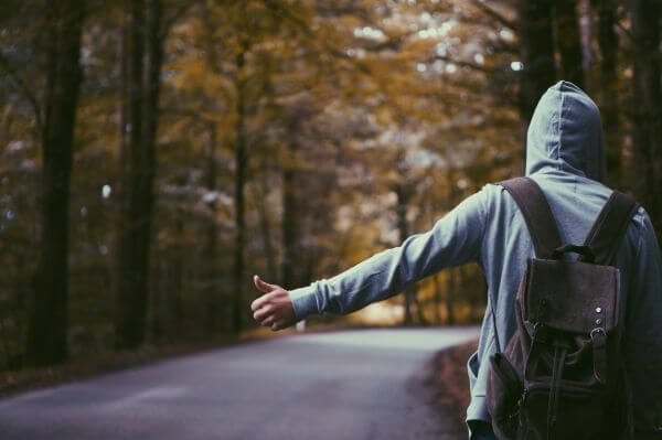 Hitchhiker photo