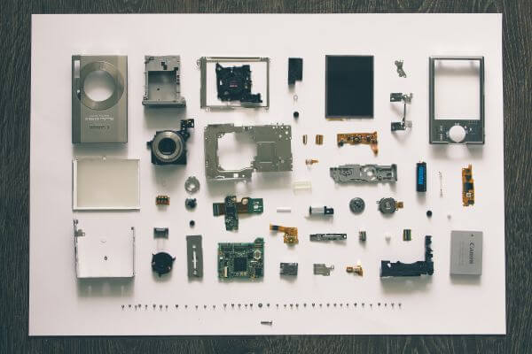 Knolling photo