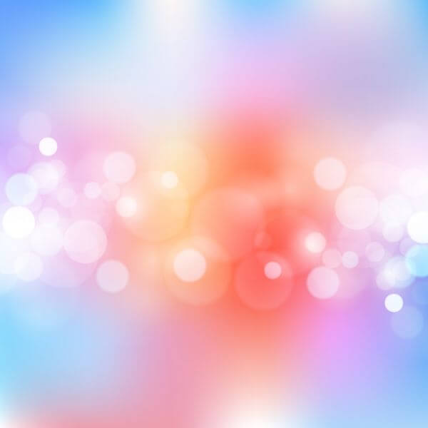Bokeh illustration vector