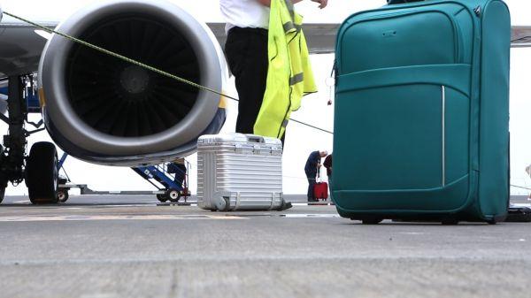 Tarmac Airport Activity video