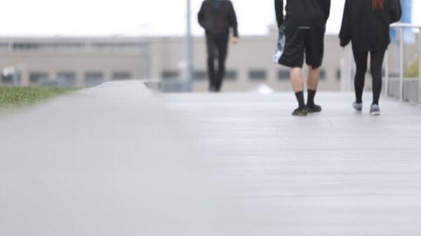 Walking People video
