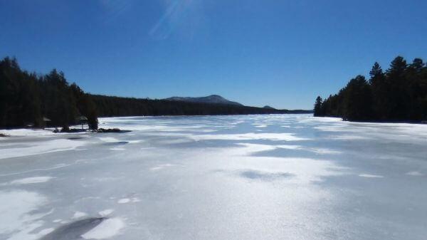 Lake Top View video
