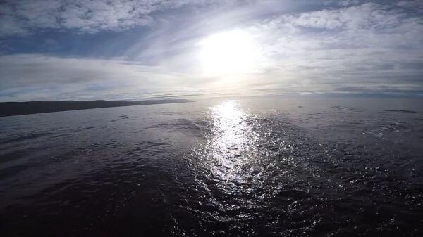 Boat Wake video