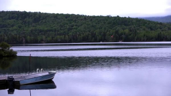Dock, Boat & Quiet Lake video