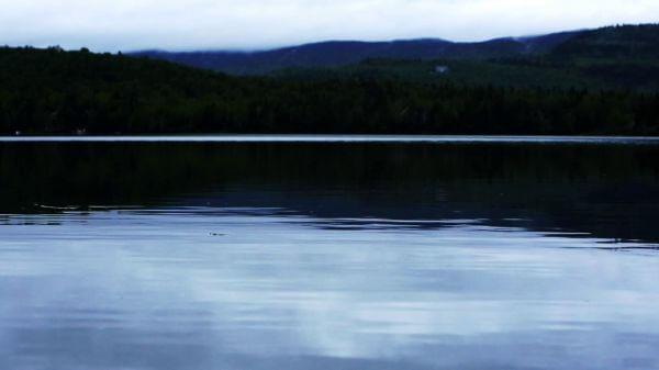 Windless Cloudy Lake video