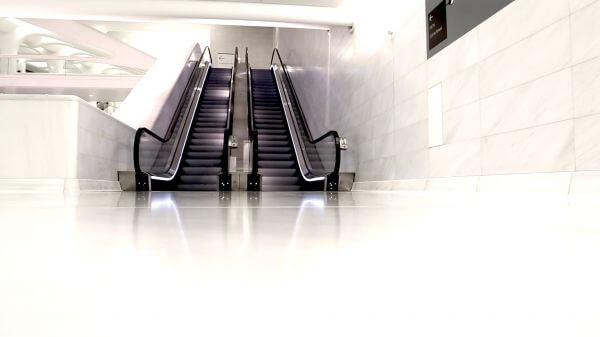 Ground Zero Escalator video