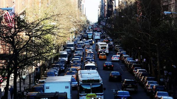 New York City Traffic video