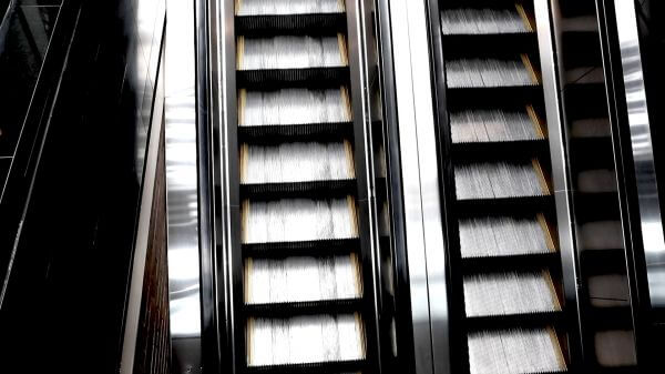 Endless Vertical Escalator video