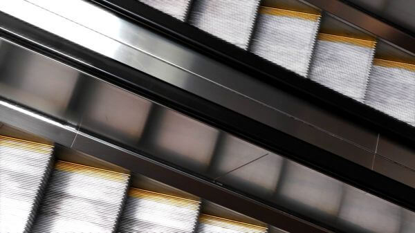 Diagonal Escalator video