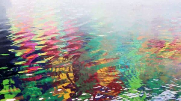 Colorful Water Surface video