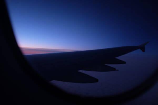 Sky above the Atlantic Ocean photo