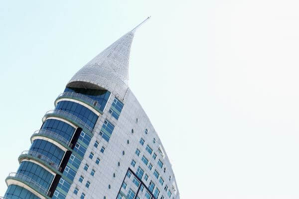 Leaning Building photo