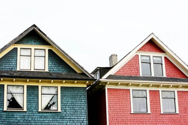Colorful Houses photo