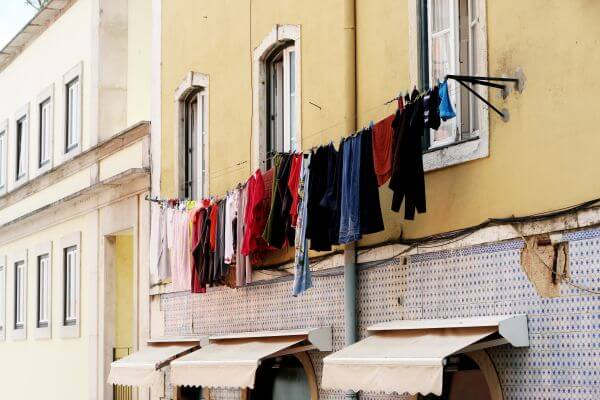 Laundry Hanging photo