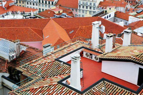 Colored City Roofs photo