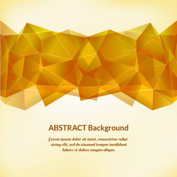 Geometric illustration vector